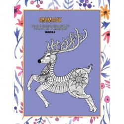 Livres a colorier pour adultes pour stylos et marqueurs - Mandala - Animaux