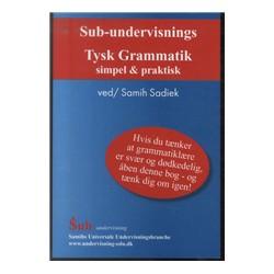 Sub-undervisnings tysk grammatik: simpel & praktisk
