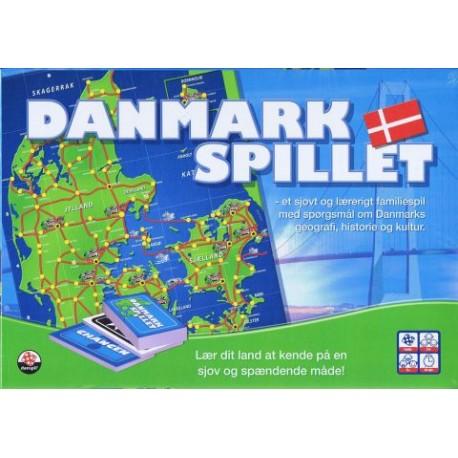 Danmarksspillet - Et sjovt og lærerigt spil om Danmark