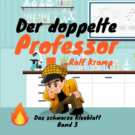 Der doppelte Professor - Das schwarze Kleeblatt, Band 3