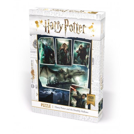 Puslespil 1000 Harry Potter Deadly Hallows