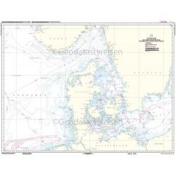 C Danmark med omgivende farvande: 1:850000