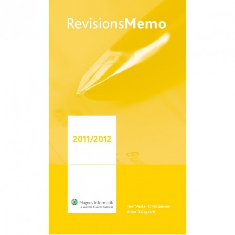 RevisionsMemo: Håndbog for praktikere (2011/2012 (4. i.e. 5. udgave))