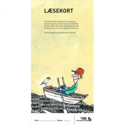 Læsekort - Bogmærker med læsestrategier. udskoling