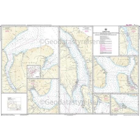 85 Færøerne Havne og ankerpladser NØ-lige del