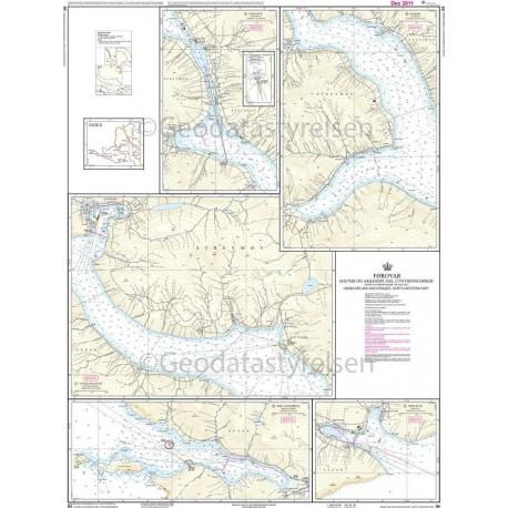 84 Færøerne Havne og ankerpladser NV-lige del