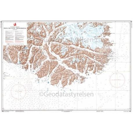 1103 Prins Christian Sund - Frederiksdal: Kap Farvel område