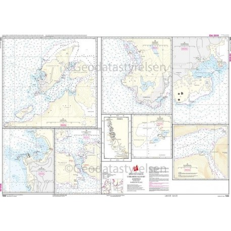 1650 Havneplaner Grønlands Vestkyst