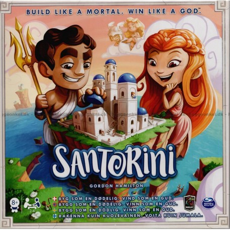 Santorini - Dansk - Tag med til det antikke Grækenland