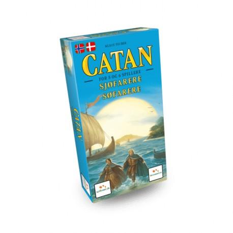 Catan: Søfarer - 5-6 spillere - Dansk