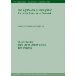The significance of immigration for public finances in Denmark