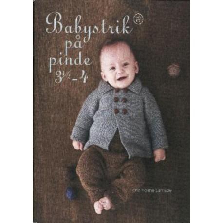 Babystrik på pinde 3,5-4: hæfte 02