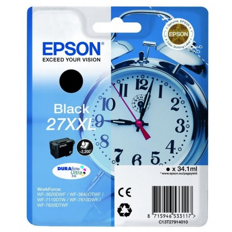 Epson T2791 Black Ink Cartridge XXL (C13T27914012)