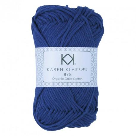 8/8 Dark Lavender - KK Color Cotton økologisk bomuldsgarn fra Karen Klarbæk