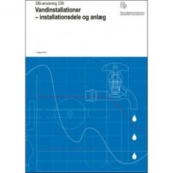 Vandinstallationer - installationsdele og anlæg