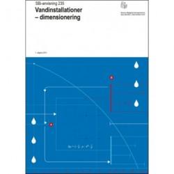 Vandinstallationer - dimensionering