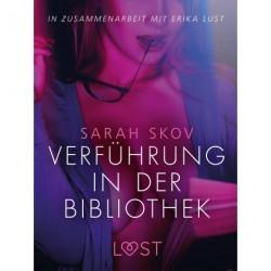 Verführung in der Bibliothek: Erika Lust-Erotik