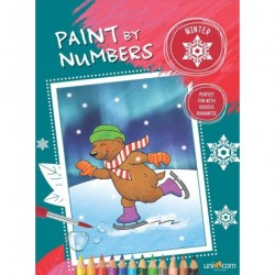 Paint by numbers - winter