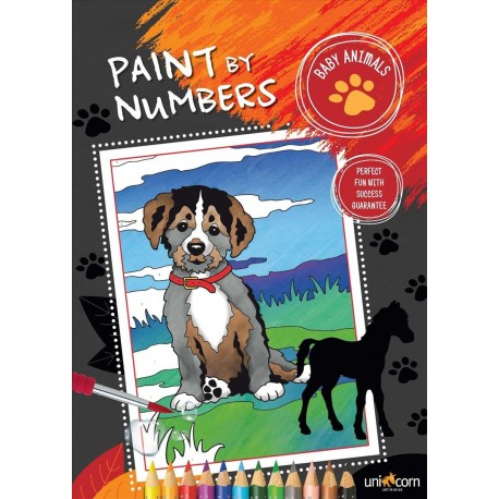 Paint by numbers - baby animals