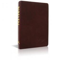 Bibelen på hverdagsdansk, brunt skind