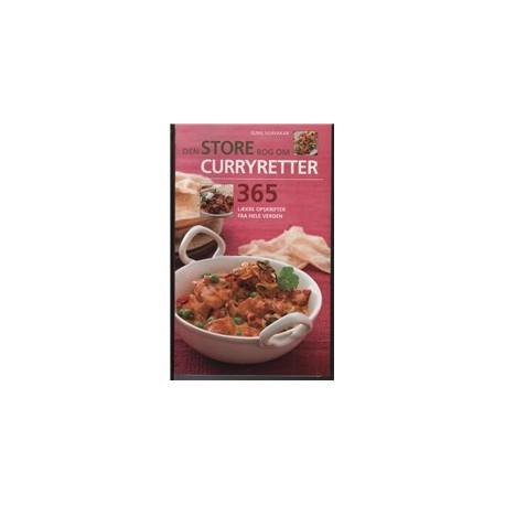Den store Bog om Curryretter: 365 spændende retter fra udvalgte dele af verden