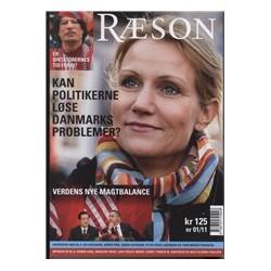 Nyhedsmagasinet RÆSON 1/11 (RÆSON9): Er diktatorernes tid forbi?