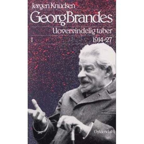 Georg Brandes, Uovervindelig taber  1914-27, Illustreret