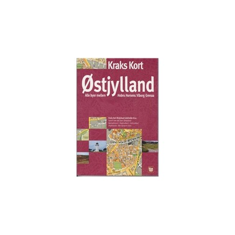 Kraks kort Østjylland 2009
