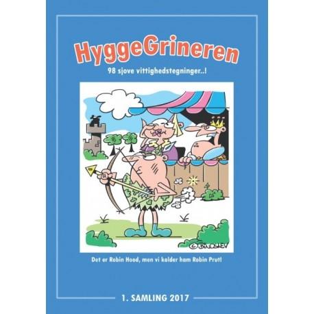 HyggeGrineren: 98 sjove vittighedstegninger...!