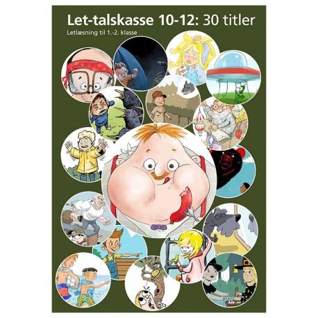 Let-talskasse 10-12: Letlæsning til 1.-2. klasse