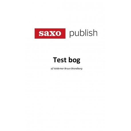 TEST BOG: Saxo Publish