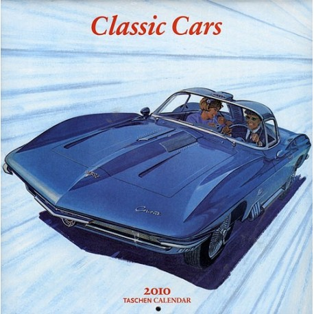 WALL CALENDAR 2010 CARS OF THE 20TH CENT. (30X30)