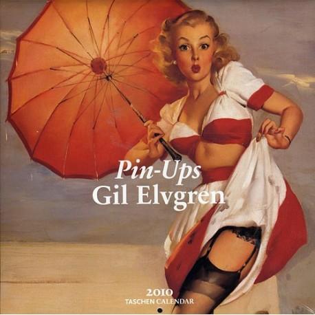 WALL CALENDAR 2010 PIN-UPS GIL ELVGREN (30X30)