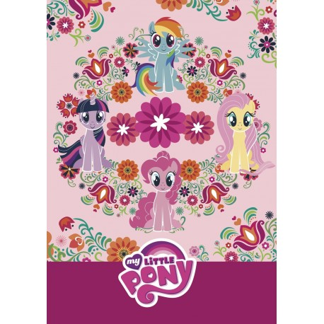 My Little Pony - Creative colouring LYSERØD: Pattern