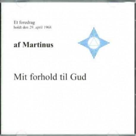 Mit forhold til Gud (CD 8): Lydforedrag på CD