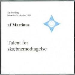 Talent for skæbnemodtagelse (CD 7): Lydforedrag på CD