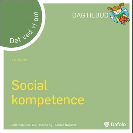 Det ved vi om - Social kompetence (dagtilbud)