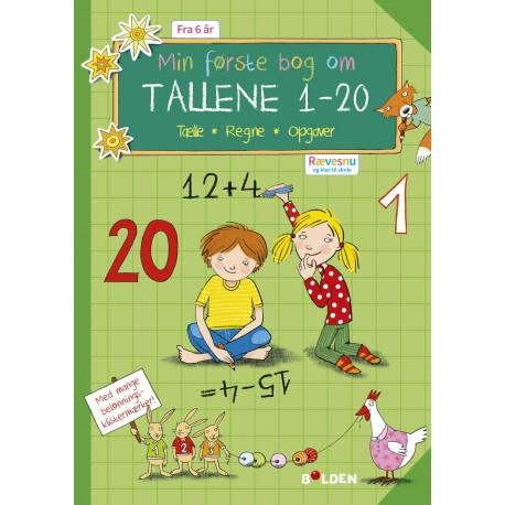 Rævesnu: Min første bog med tallene 1 - 20