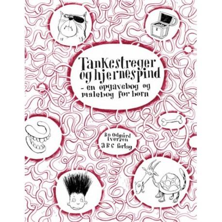 Tankestreger og hjernespind: en opgavebog og malebog for børn