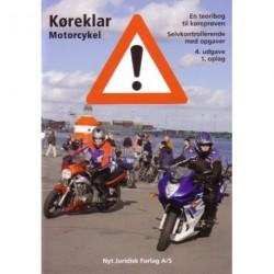 Køreklar Motorcykel: en teoribog til køreprøven - selvkontrollerende med opgaver