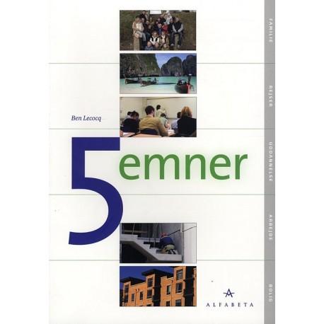 5 emner