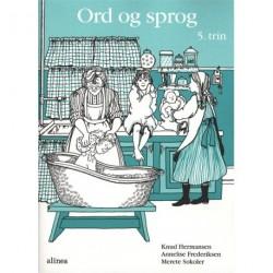 S og M-bøgerne, 5.Trin, Ord og sprog: skriftlig dansk 5. trin
