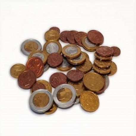 Konkrete materialer, Euromønter