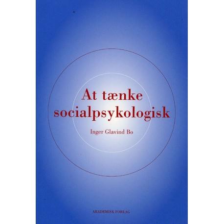 At tænke socialpsykologisk