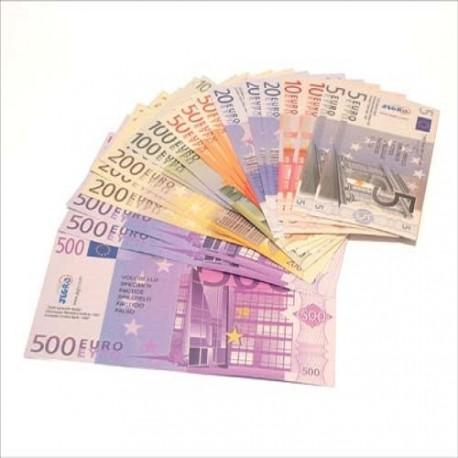 Konkrete materialer, Eurosedler
