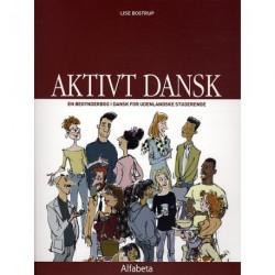 Aktivt dansk, Grundbog: En begynderbog i dansk for udenlandske studerende