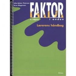 Faktor i anden, Lærerens håndbog, 2.udg.