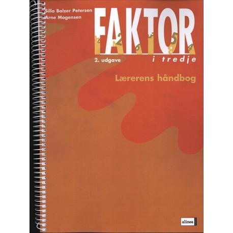 Faktor i tredje, Lærerens håndbog, 2.udg.