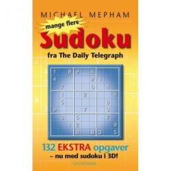 Mange flere Sudoku - med 3D opgaver: 132 ekstra opgaver