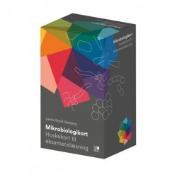 Mikrobiologikort: Huskekort til eksamenslæsning